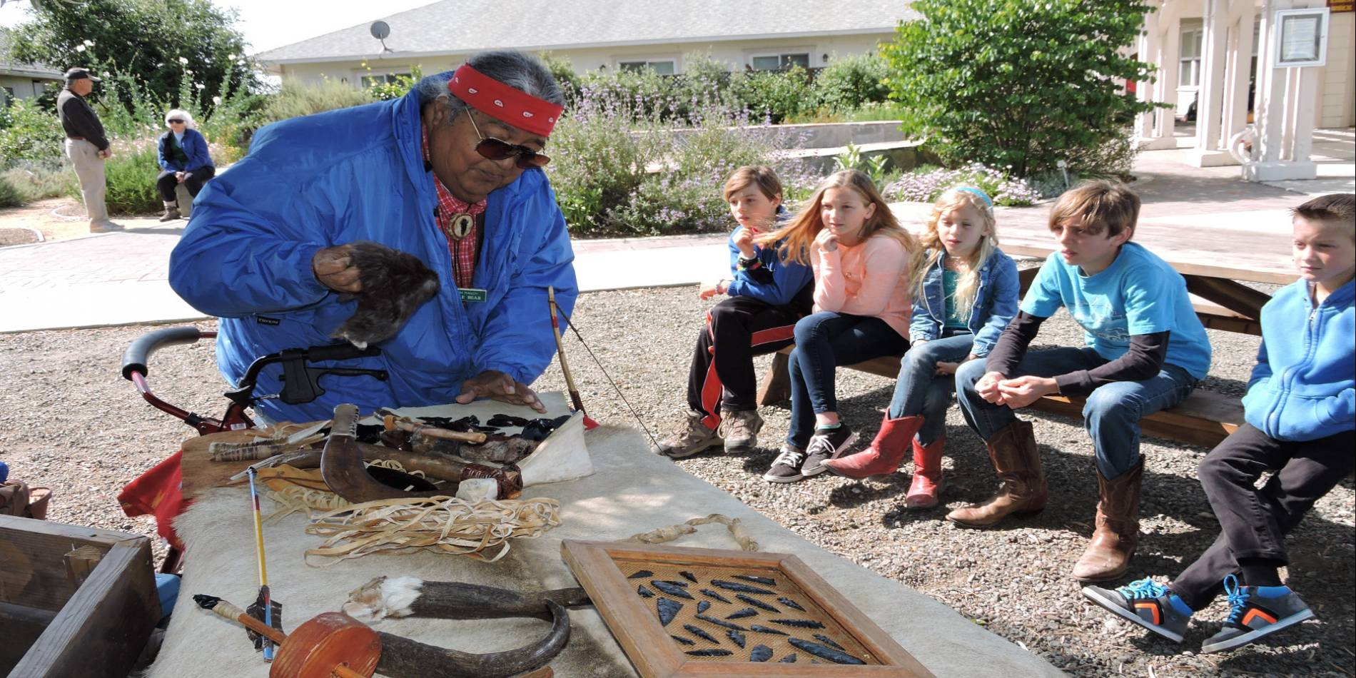 Get the Rush! is a series of fun activities for the whole family, offered on the third Saturday of every month at Rush Ranch.