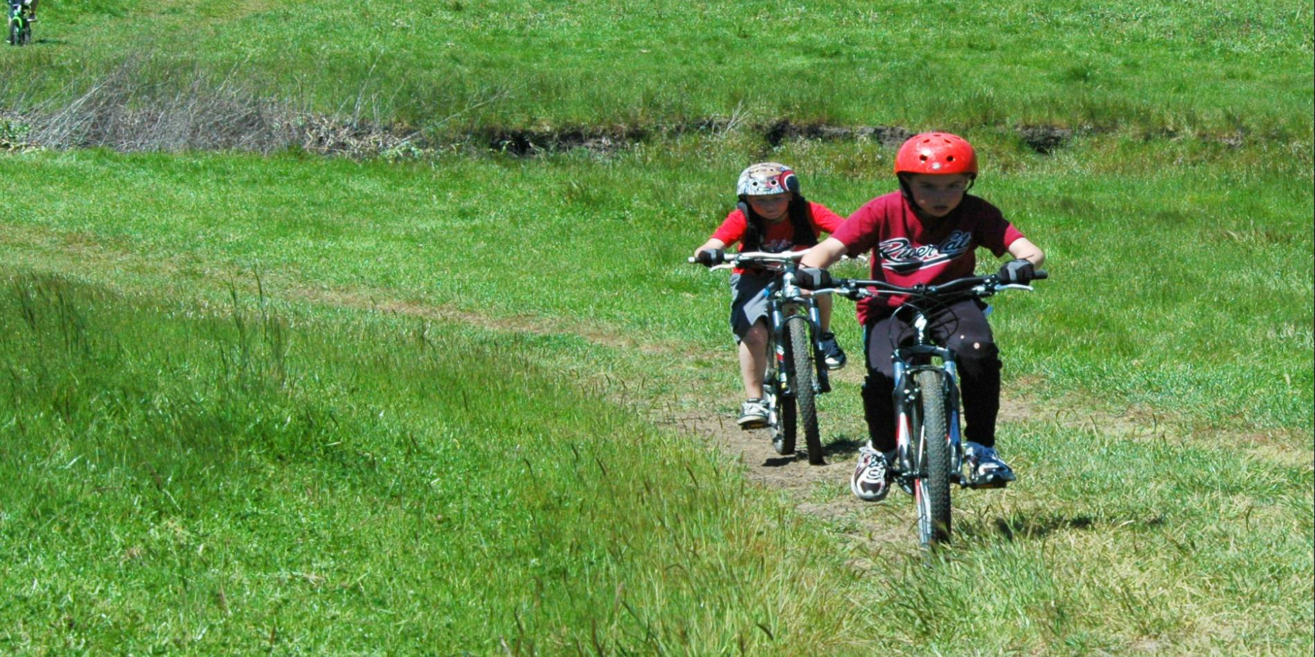 Both Lynch Canyon and Rockville Hills are popular parks for mountain bikers of all ages and skill