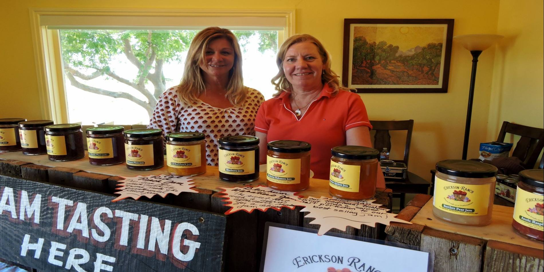 Their sweet and delicious jam varieties are all made with produce grown on the farm