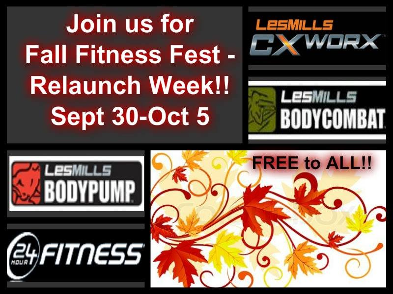 24 Hour Fitness - Relaunch