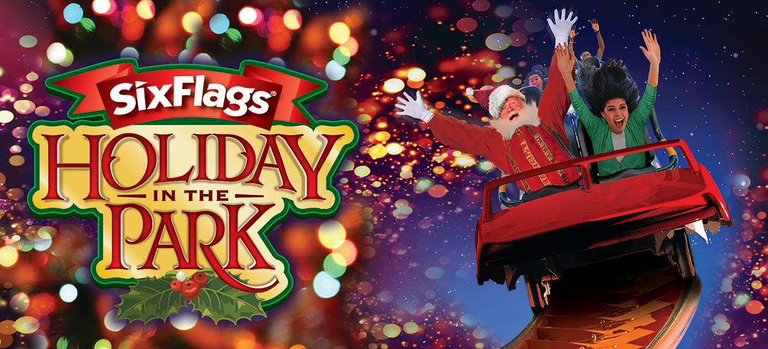 Image result for holiday in the park six flags