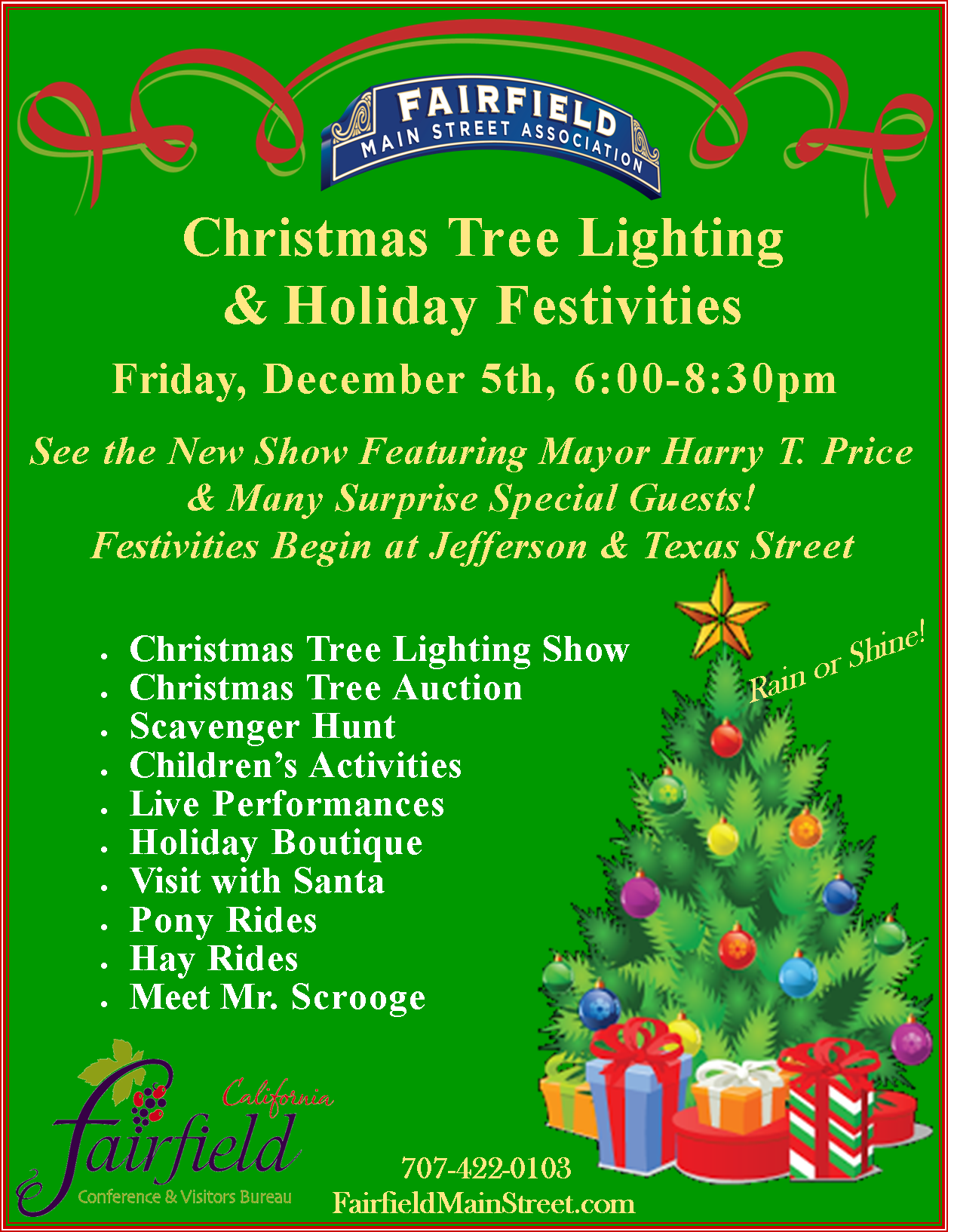 Fairfield Tree Lighting is just a week away  sc 1 st  Visit Fairfield : fairfield christmas tree lighting - azcodes.com