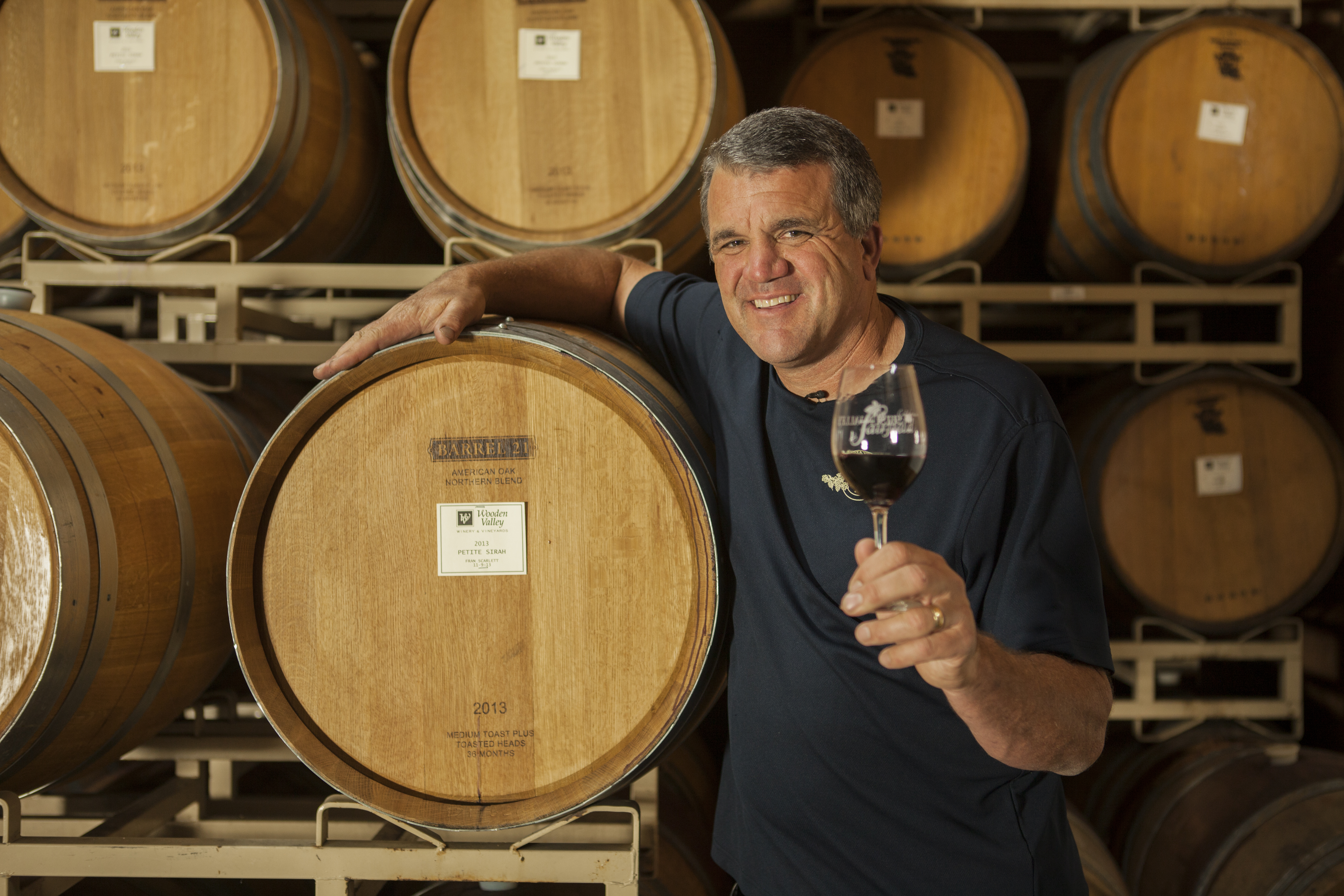 Ron Lanza of Wooden Valley Winery