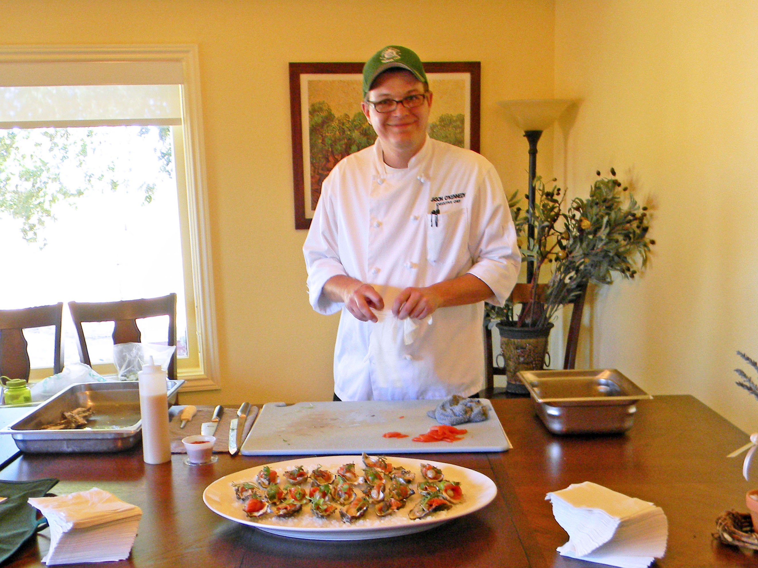 Chef Jason O'Kennedy from Green Valley Country Club